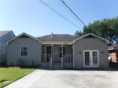 Marrero Single Family Home For Sale: 4806 7th Street