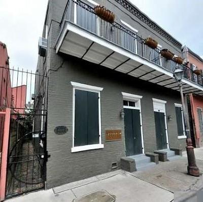French Quarter Condo For Sale: 433 Burgundy Street #7