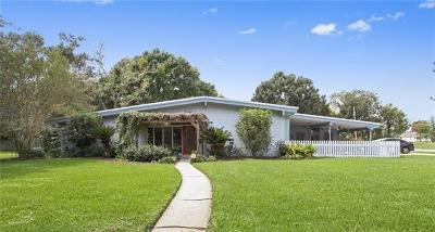 Kenner Single Family Home For Sale: 1211 Minor Street