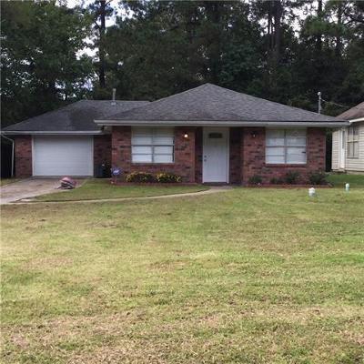 Slidell Single Family Home For Sale: 117 Marilyn Drive