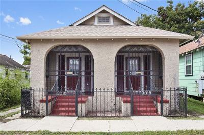 New Orleans Multi Family Home For Sale: 3016 Republic Street