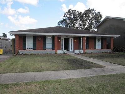 Harvey Single Family Home For Sale: 2251 S Von Braun Court