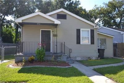 River Ridge, Harahan Single Family Home For Sale: 432 West Avenue