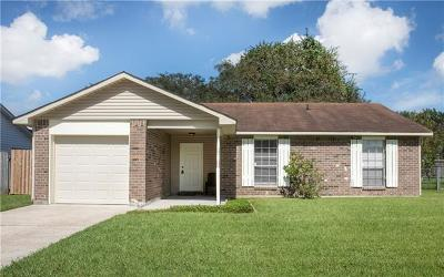 Marrero Single Family Home For Sale: 2716 Varnado Street