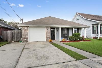 Kenner Single Family Home For Sale: 1112 Massachusetts Avenue
