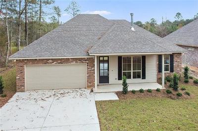 Covington Single Family Home For Sale: 72538 Plantation Street