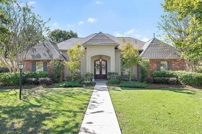 Mandeville Single Family Home For Sale: 3124 Grove Court