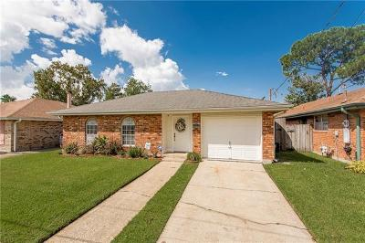 Kenner Single Family Home For Sale: 4225 Arizona Avenue