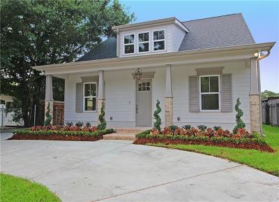 Metairie Single Family Home For Sale: 3610 Cypress Street