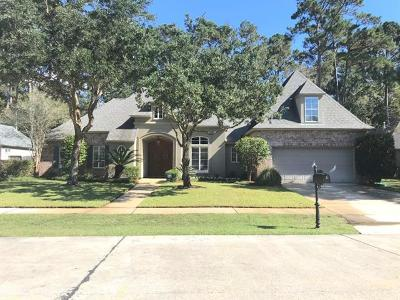 Mandeville Single Family Home For Sale: 767 Libby Lane