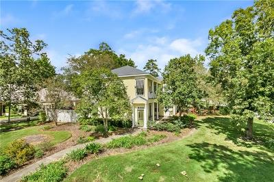Mandeville Single Family Home For Sale: 25 Berg Court