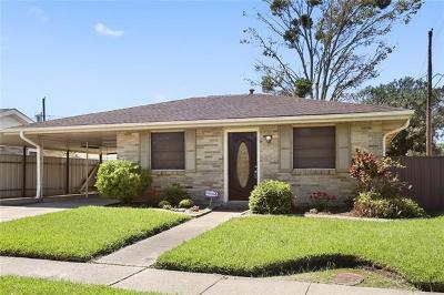 Marrero Single Family Home For Sale: 3504 Caminada Drive