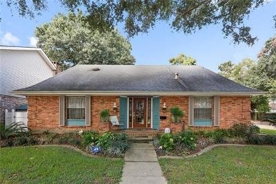 Kenner Single Family Home For Sale: 50 Madrid Avenue