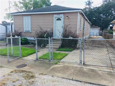 Marrero Single Family Home For Sale: 7509 Terrebonne Street