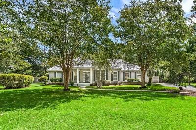 Madisonville Single Family Home For Sale: 209 Muskogee Trail