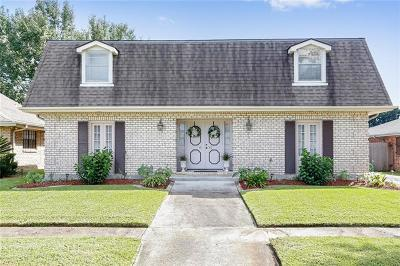 Kenner Single Family Home For Sale: 4156 Bordeaux Drive