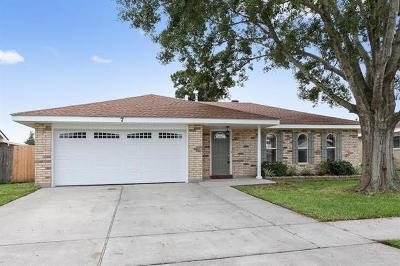 Kenner Single Family Home For Sale: 7 Sabine Court
