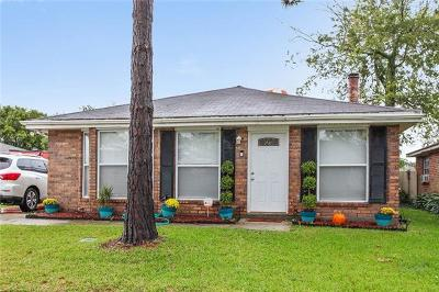 Destrehan, St. Rose Single Family Home For Sale: 112 Jane Lane