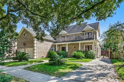 New Orleans Single Family Home For Sale: 1606 Charlton Drive