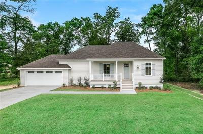 Madisonville LA Single Family Home For Sale: $319,900