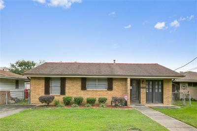 Kenner Single Family Home For Sale: 2116 Iowa Avenue