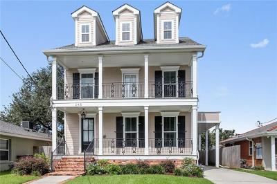 New Orleans Single Family Home For Sale: 345 39th Street