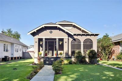 New Orleans Single Family Home For Sale: 5564 Rosemary Place
