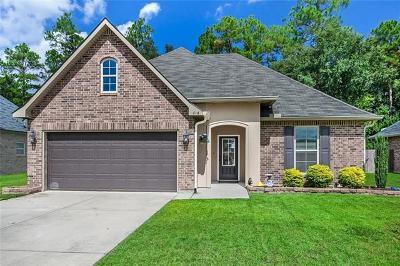 Slidell Single Family Home Pending Continue to Show: 616 Fairfield Loop