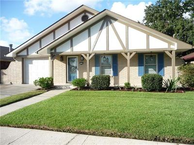 Metairie Single Family Home For Sale: 4733 Sturtz Drive