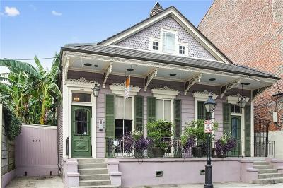 French Quarter Multi Family Home For Sale: 823 Burgundy Street #1&3