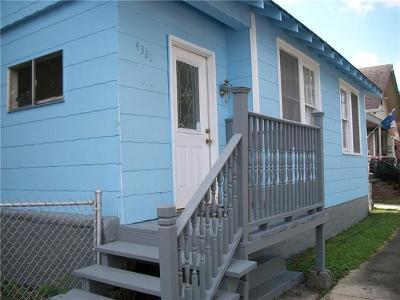 Single Family Home For Sale: 4321 General Ogden Street