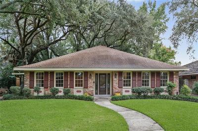 River Ridge, Harahan Single Family Home For Sale: 10133 Florence Court