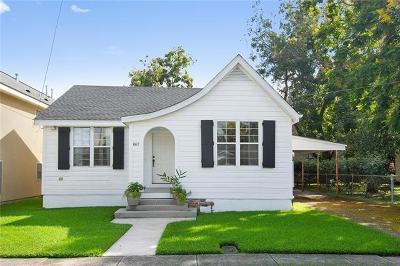 Jefferson Single Family Home For Sale: 667 Terrace Street