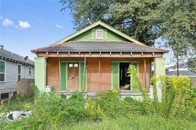 New Orleans Single Family Home For Sale: 1010 Lamanche Street