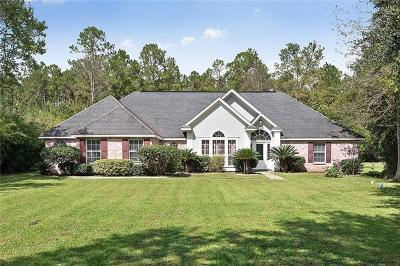 Slidell Single Family Home For Sale: 35605 Liberty Drive