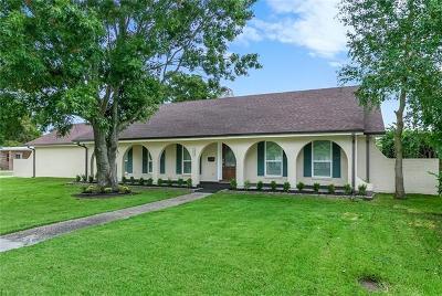 Gretna Single Family Home For Sale: 481 Fairfield Avenue