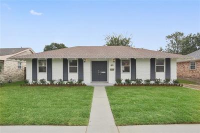 Metairie Single Family Home For Sale: 3109 Verna Street