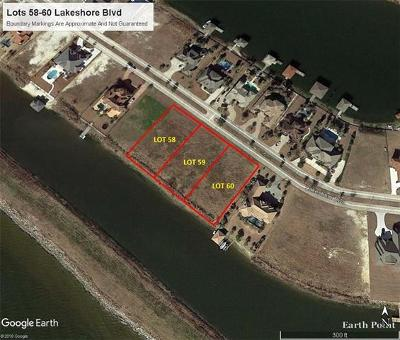 Slidell Residential Lots & Land For Sale: Lot 58-60 Lakeshore Boulevard