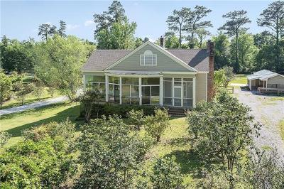 Covington LA Single Family Home For Sale: $1,350,000