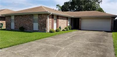 Marrero Single Family Home For Sale: 2517 W Pearl Drive