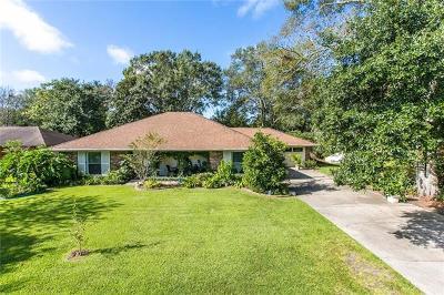 Slidell Single Family Home For Sale: 129 Oak Leaf Drive