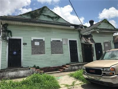 New Orleans Single Family Home For Sale: 2508 S Prieur Street