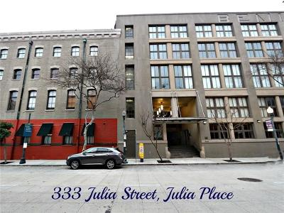 Jefferson Parish, Orleans Parish Condo For Sale: 333 Julia Street #308