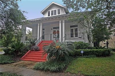 Single Family Home For Sale: 3837 Napoleon Avenue