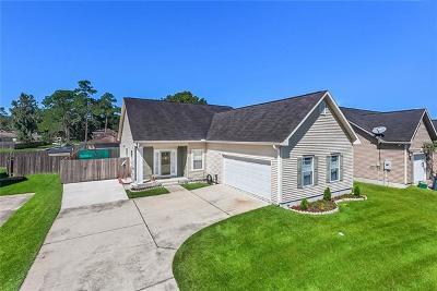Marrero Single Family Home For Sale: 5252 Clementine Lane