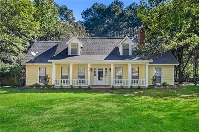 Covington Single Family Home For Sale: 27 Michelle Drive