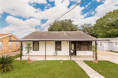 Gretna Single Family Home For Sale: 7 Mason Street