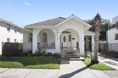 New Orleans Single Family Home For Sale: 6859 Canal Boulevard