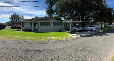 Westwego Single Family Home For Sale: 900 Keller Avenue