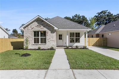Kenner Single Family Home For Sale: 2110 10th Street